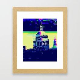 Hose of Glitch Framed Art Print