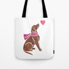 Watercolour Curly-coated Retriever Tote Bag