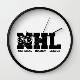 NHL LOGO Wall Clock