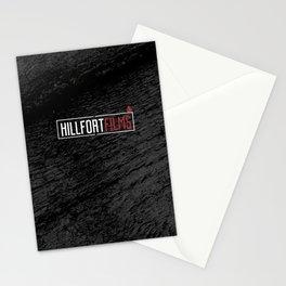 Hillfort Films Black Stationery Cards