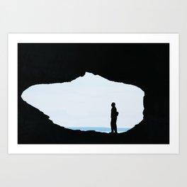 Peep Hole Art Print