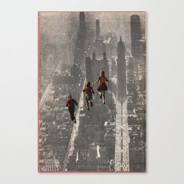 RUN THE TOWN Canvas Print