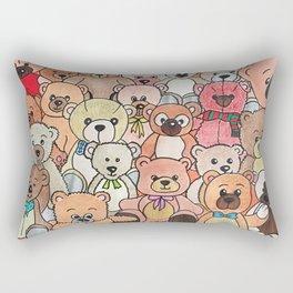 Teddy bears Rectangular Pillow