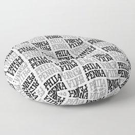 PHILA/PENNA Pattern Floor Pillow