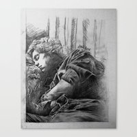 harry styles Canvas Prints featuring Harry Styles by Adele_F