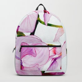purple orchids Backpack