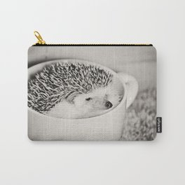 Disgruntled Hedgie Carry-All Pouch