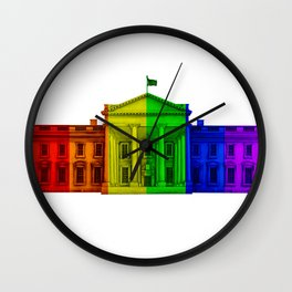 Celebrate Marriage Equality Wall Clock