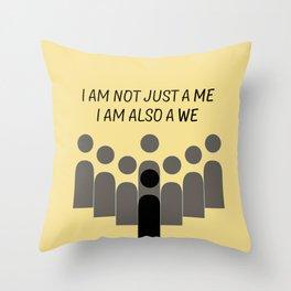 Sense8 - i am also a we  Throw Pillow