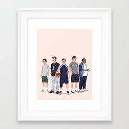 The Dream Team Framed Art Print
