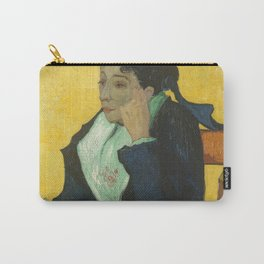 Vincent van Gogh - L'Arlésienne: Madame Joseph-Michel Ginoux (Marie Julien, 1848–1911) Carry-All Pouch