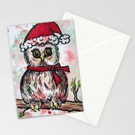 Holiday Hoot Stationery Cards