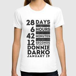 Donnie Darko 28:6:42:12 T-shirt