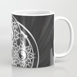 Seven Yin Yang Symmetry Balance Energy Coffee Mug