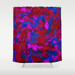 ovoid dynamics 2 Shower Curtain