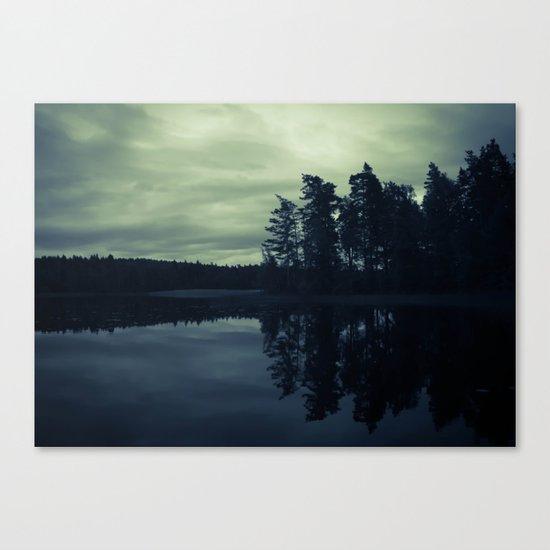 Lake by Night Canvas Print