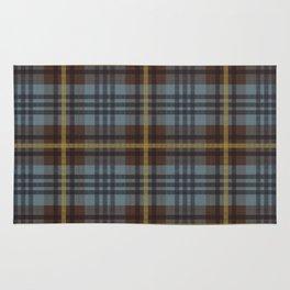 Faded Johnstone Scottish Tartan Rug