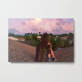 Rooftop Views Metal Print