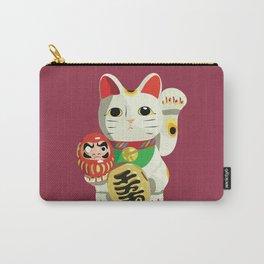 Maneki Neko - Lucky Cat Carry-All Pouch