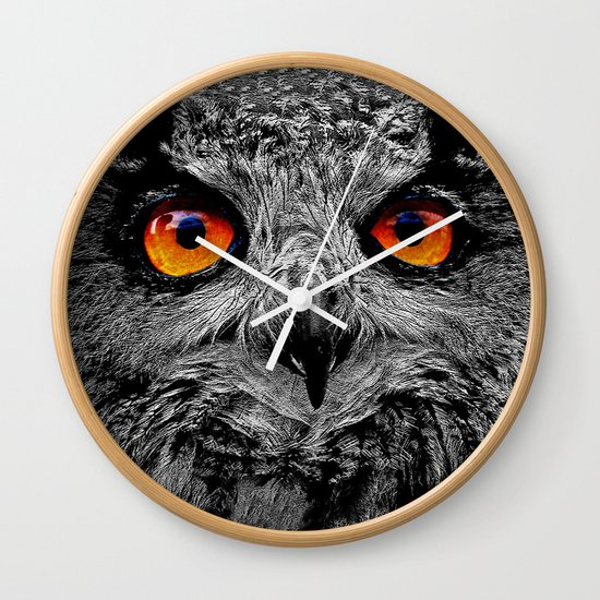 YOU'RE THE ORANGE OF MY EYES Wall Clock
