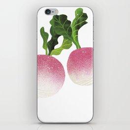 Turnip Illustration iPhone Skin
