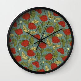 Summer Symphony #02 Wall Clock