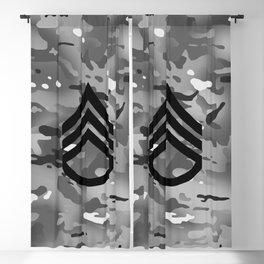Staff Sergeant (Urban Camo) Blackout Curtain