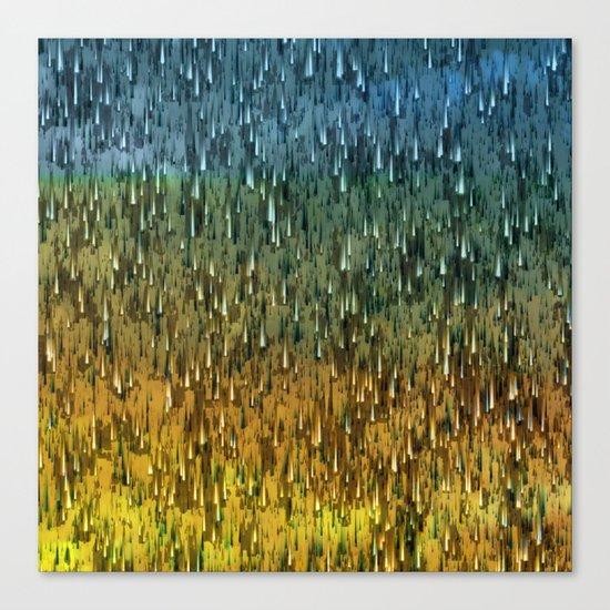 Raining Forest / Autumn 16-10-16 Canvas Print