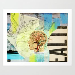 Aquiring Consciousness Art Print
