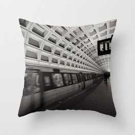 Going Somewhere? Throw Pillow