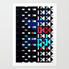 Shifted Art Print