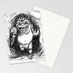 King Gambler  Stationery Cards