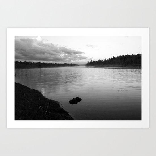 on raquette lake Art Print