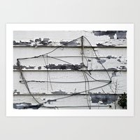 the wire Art Prints featuring Wire  by Ethna Gillespie
