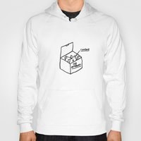 internet Hoodies featuring The Internet by Saskdraws