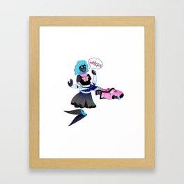 Accidents happen Framed Art Print
