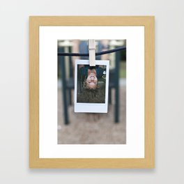 Prime Pitch Polaroids (By: Laura Lindsay) Framed Art Print
