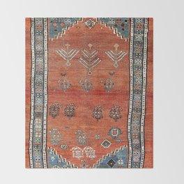 Bakhshaish Azerbaijan Northwest Persian Carpet Print Throw Blanket