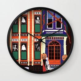 Haunted house - Halloween  Wall Clock