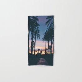 SUNRISE - SUNSET - PALM - TREES - NATURE - PHOTOGRAPHY Hand & Bath Towel