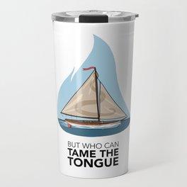 Tame the Tongue (no printed signature) Travel Mug