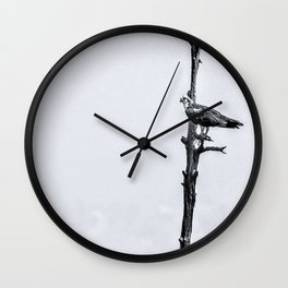 Lonely Perch Wall Clock