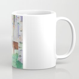 The relationship between a bear and a deer Coffee Mug