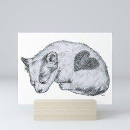 Lovely Dog Mini Art Print