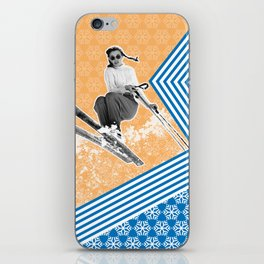Ski Like a Girl iPhone Skin
