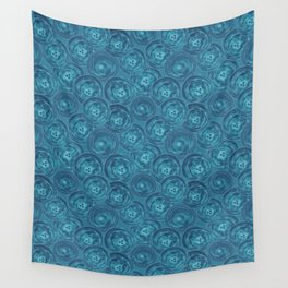 Blue anemones Wall Tapestry