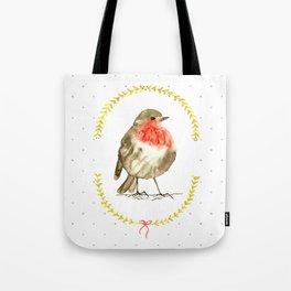 winterbird Tote Bag
