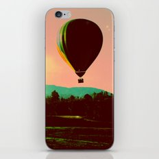 Hot Air Balloon iPhone & iPod Skin