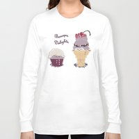 baroque Long Sleeve T-shirts featuring Baroque Delights by Inque