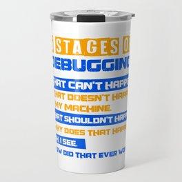 Admin programmer nerdy app developer gift Travel Mug